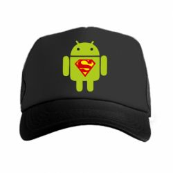 Кепка-тракер Super Android - FatLine