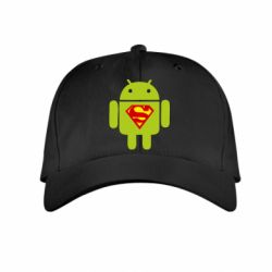 Детская кепка Super Android