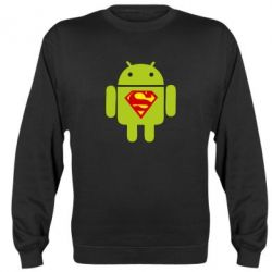 Реглан (свитшот) Super Android - FatLine