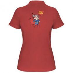 Купить Женская футболка поло Супер бабушка, FatLine