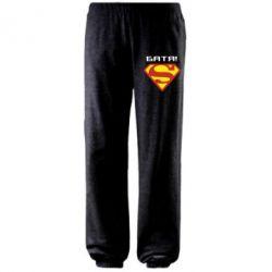 Штаны Super Батя - FatLine