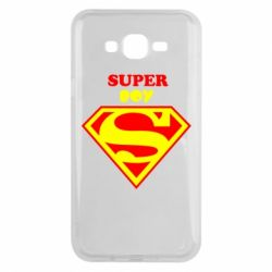 Чохол для Samsung J7 2015 Super Boy