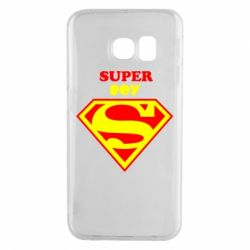 Чохол для Samsung S6 EDGE Super Boy