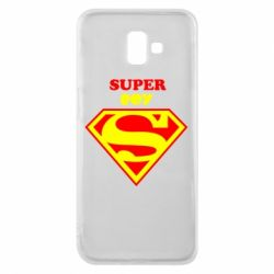 Чохол для Samsung J6 Plus 2018 Super Boy