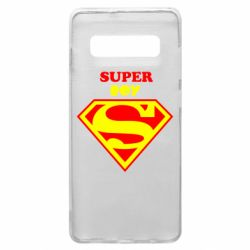 Чохол для Samsung S10+ Super Boy