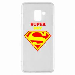 Чохол для Samsung A8+ 2018 Super Boy
