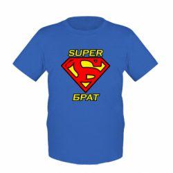 Детская футболка Super брат
