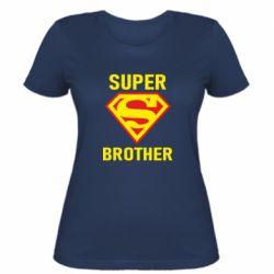Женская футболка Super Brother