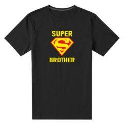 Мужская стрейчевая футболка Super Brother