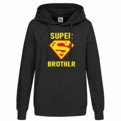Женская толстовка Super Brother