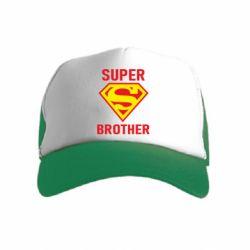 Детская кепка-тракер Super Brother