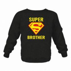 Детский реглан (свитшот) Super Brother