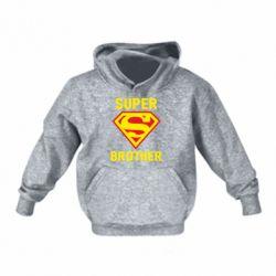 Детская толстовка Super Brother