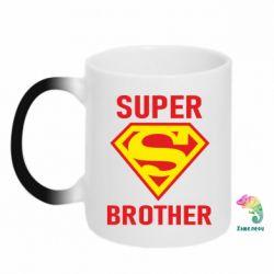 Кружка-хамелеон Super Brother
