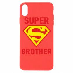Чехол для iPhone X/Xs Super Brother