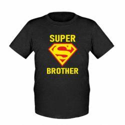 Детская футболка Super Brother