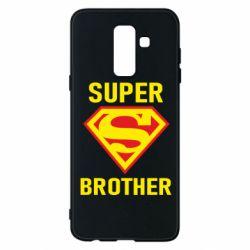 Чехол для Samsung A6+ 2018 Super Brother
