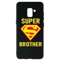 Чехол для Samsung A8+ 2018 Super Brother