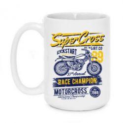 Кружка 420ml Super Cross 1989