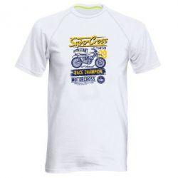 Купить Мужская спортивная футболка Super Cross 1989, FatLine
