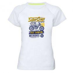 Жіноча спортивна футболка Super Cross 1989