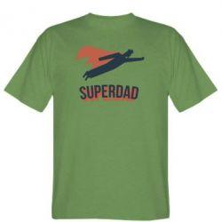 Чоловіча футболка Super dad flies
