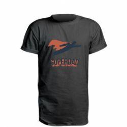 Подовжена футболка Super dad flies
