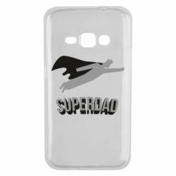 Чохол для Samsung J1 2016 Super dad flies