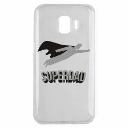 Чохол для Samsung J2 2018 Super dad flies
