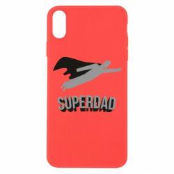 Чохол для iPhone Xs Max Super dad flies