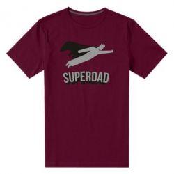 Чоловіча стрейчева футболка Super dad flies