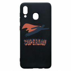 Чохол для Samsung A30 Super dad flies