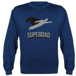 Реглан (світшот) Super dad flies
