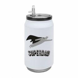 Термобанка 350ml Super dad flies