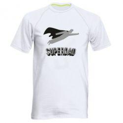 Чоловіча спортивна футболка Super dad flies