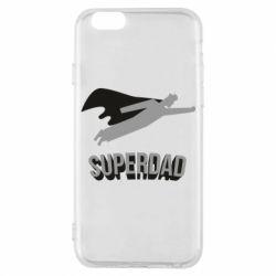 Чохол для iPhone 6/6S Super dad flies
