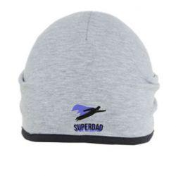 Шапка Super dad flies