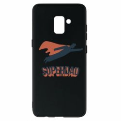 Чохол для Samsung A8+ 2018 Super dad flies