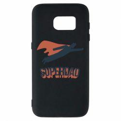 Чохол для Samsung S7 Super dad flies