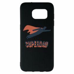 Чохол для Samsung S7 EDGE Super dad flies