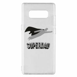 Чохол для Samsung Note 8 Super dad flies