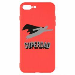 Чохол для iPhone 8 Plus Super dad flies