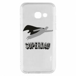 Чохол для Samsung A3 2017 Super dad flies