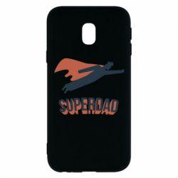 Чохол для Samsung J3 2017 Super dad flies