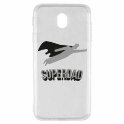 Чохол для Samsung J7 2017 Super dad flies