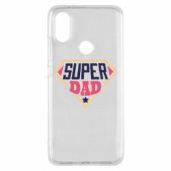 Чехол для Xiaomi Mi A2 Super dad text
