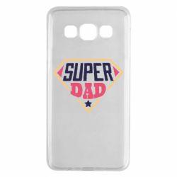 Чехол для Samsung A3 2015 Super dad text