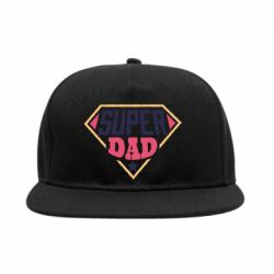 Снепбек Super dad text
