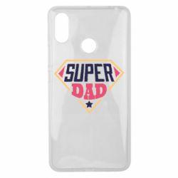 Чехол для Xiaomi Mi Max 3 Super dad text