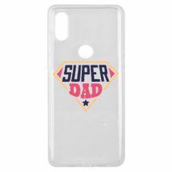 Чехол для Xiaomi Mi Mix 3 Super dad text